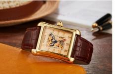Đồng hồ nam thời trang dây da cao cấp Sewor Q01 máy cơ Automatic(Cập nhật 2019)