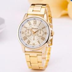Đồng hồ dây hợp kim Geneva GE005-1 (Vàng)