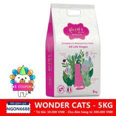 Hạt cho mèo Wonder Cats (5 kg)