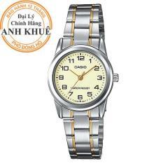 Đồng hồ nữ dây kim loại Casio Anh Khuê LTP-V001D-1BUDF.