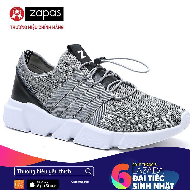 Giày Sneaker Zapas Classcial – GZ016 (Màu Xám) [Có quay Video Quay Thật] – Nhà phân phối chính thức