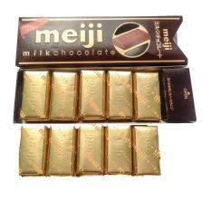 Hộp 10 Viên Socola Sữa Nhật Bản Meiji Milk Chocolate