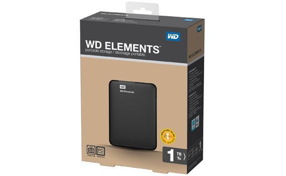 Ổ cứng di động HDD Box WD 1000G element