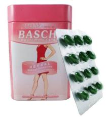 Viên uống giảm cân thảo dược Baschi hồng Thái Lan hộp thiếc 30 viên giúp dáng đẹp