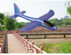 Đồ chơi cực hot hè 2018: Máy bay xốp phi tay loại to (48 x 48 cm)