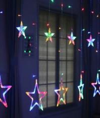 Bộ 12 Đèn thả rèm ngôi sao cực đẹp( 7 màu)
