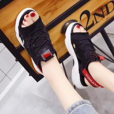 [Junisu] Sandal Moto mẫu mới siêu hót 2018 phối đen, đỏ
