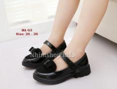 Giày Phong Cách Vintage Cực Xinh Cho Bé Gái 3 – 12 Tuổi G3