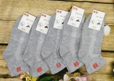 Bộ 10 Đôi Tất Vớ Nam Cổ Trung Khử Mùi Cao Cấp Nhật Bản