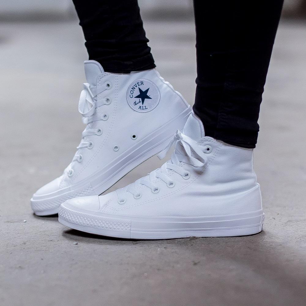 (XẢ KHO 1 NGÀY) Giày CV CH2 cao cổ nam nữ (trắng, xanh dương, xanh navy)