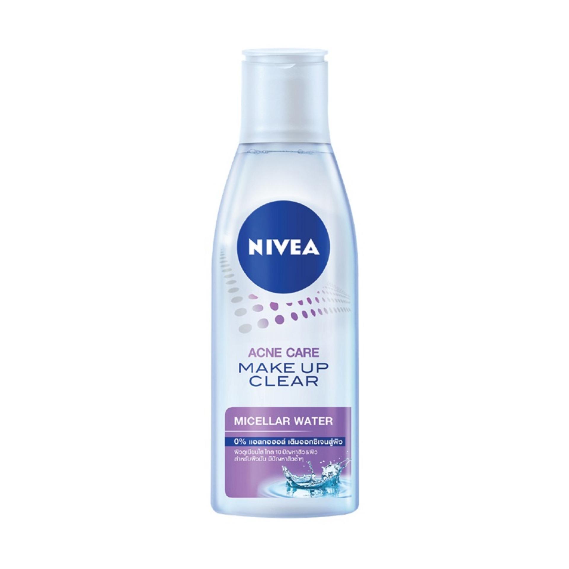 Nước tẩy trang NIVEA Acne Care Make up clear Micellar water 200ml