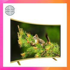 Smart TV Asanzo màn hình cong 50 inch Full HD – Model AS50CS6000 (Đen) Tích hợp DVB-T2, Wifi