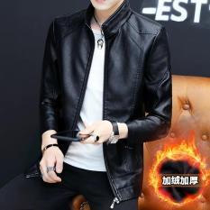 Áo Khoác Da Nam Black Leather Cao Cấp kỳ_duyên