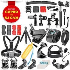 Bộ phụ kiện GOPRO, SJCAM 50 in 1 + FREE 1 phao nổi gắn camera, hàng thể thao chuyên dụng cao cấp cho dân phượt – BlingBling
