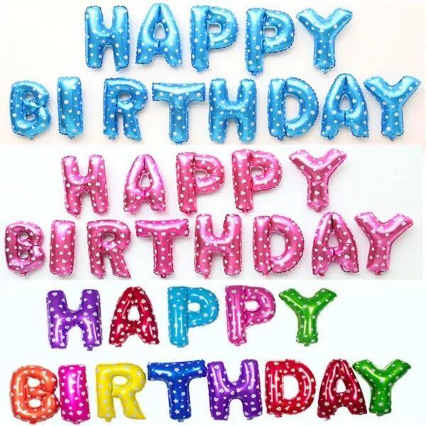 Set chữ Happy Birthday