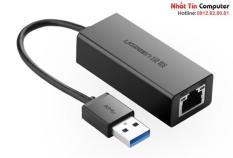 Cáp chuyển USB 3.0 to Lan hỗ trợ 10/100/1000 Mbps Ugreen 20256