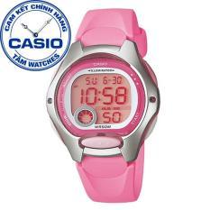 Đồng hồ nữ dây nhựa Casio Standard Anh Khuê LW-200-4BVDF