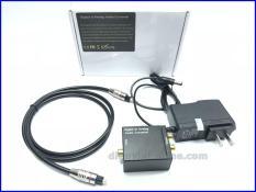 Bộ chuyển đổi âm thanh tivi 4k Optical sang AV ( Hàng Hộp )