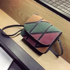 Túi xách kẻ phối màu cá tính – T57