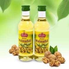 Combo 2 chai dầu óc chó Đức Kunella Feinkost WalnuBol 100ml(nhập khẩu)