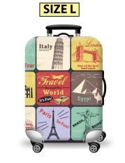 Túi bọc bảo vệ vali -Áo vỏ bọc vali – Size L- HPValiOEM