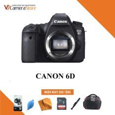Canon EOS 6D Body – Nhập khẩu, Tặng kèm thẻ nhớ 32gb, túi Canon Focus, bóng thổi, khăn lau, bút lau, dán màn hình