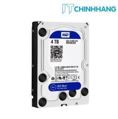 Ổ Cứng HDD WD 4TB Blue SATA3 – Hãng Phân Phối Chính Thức