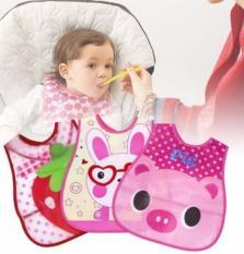 Yếm ăn dặm silicone mềm chống thấm có máng hứng cho bé (Hình ảnh ngẫu nhiên dành cho Bé Trai Hoặc Bé Gái)