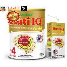 Sữa Nuti IQ Gold 4 900g