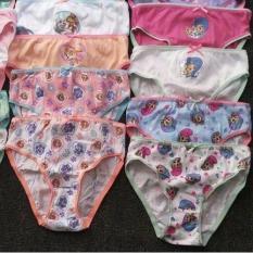 Set 3 quần chíp Disney xuất dư cho bé gái 2-6 tuổi