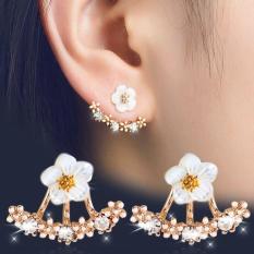 MẪU BÁN CHẠY Bông tai hoa cúc nhỏ xinh mạ vàng 18K