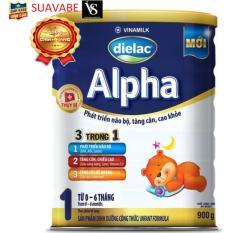 Sữa bột Dielac Alpha Step 1 900g