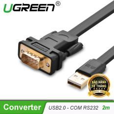 Cáp USB 2.0 sang cáp COM RS232 dài 2m UGREEN CR107 20218 – Hãng phân phối chính thức