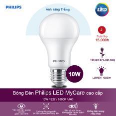 Bóng đèn Philips LED MyCare 10W 6500K E27 A60 – Ánh sáng trắng