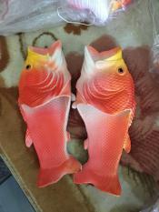 dép cá chép màu cam có sẵn size 36-45