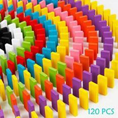Bộ đồ chơi domino sắc màu 120 chi tiết bằng gỗ