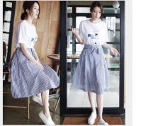 Sét áo và chân váy nhập Quảng Châu-Annashop123Ms449