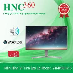 Màn Hình Vi Tính Ips Lg Model: 24MP88HV-S , 24 Inch, Full-HD,Siêu Phẩm 4 Phía Không Viền (Đen)