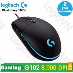 Chuột game Logitech G102 Prodigy RGB LED (Đen) – Hãng phân phối chính thức
