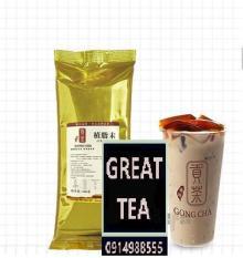 Bột sữa pha trà sữa cao cấp Gongcha gói vàng