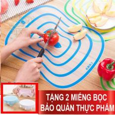 Combo 3 flexible plastic cutting board. Get 2 free food preservative pads
