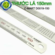 Thước lá C-MART D0019-150 150mm