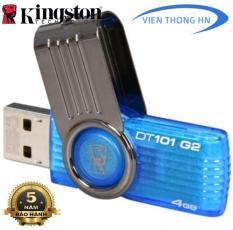USB 2.0 Kingston DT101 G2 4Gb Có NTFS Dung Lượng Lưu Trữ Thực Lớn Thiết Kế Nhỏ Gọn Độc Đáo Tương Thích Nhiều Thiết Bị