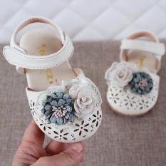 [SenXanh] Giày sandal rọ nơ hoa cho bé gái