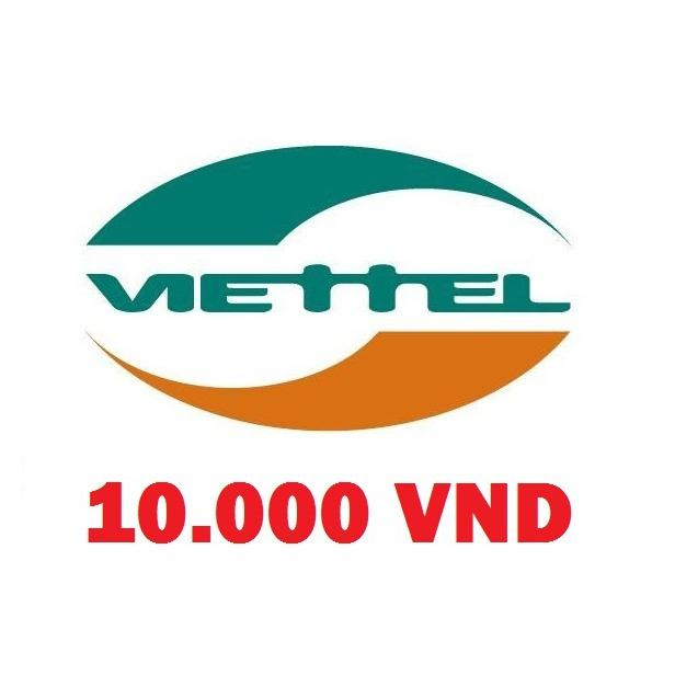 thẻ cào điện thoại viettel