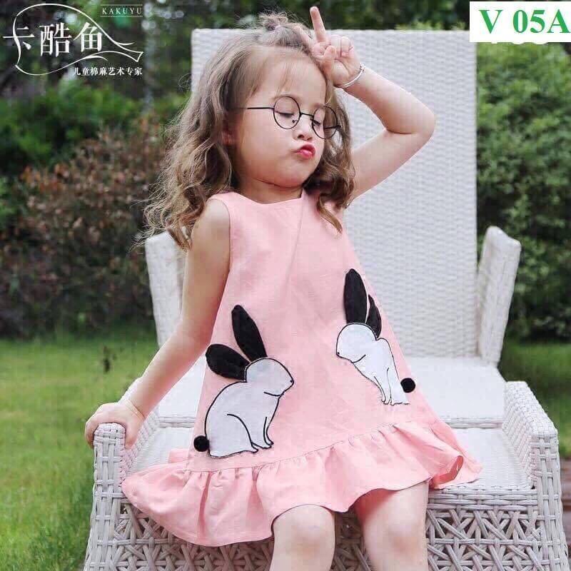 Váy hình thỏ cho bé gái