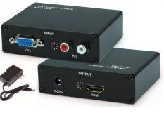 Bộ chuyển đổi VGA sang HDMI Box VGA to HDMI