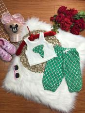 Bộ alibaba chất cotton đẹp cho bé gái