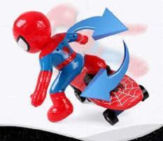 Người nhện lướt ván, đồ chơi người nhện, Spider man lướt ván có đèn nhạc