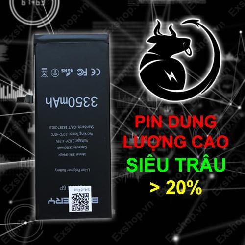 Pin Siêu Trâu EXPRO – PIN IPHONE 6/6S DUNG LƯỢNG CAO HƠN 20% Đang Bán Tại Exshop